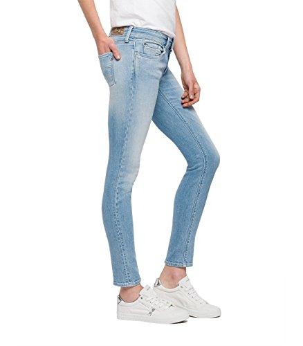 Luz Blue Jeans Skinny Light 11 Donna Blu REPLAY dC8nz1d