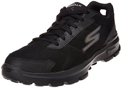 Skechers Men's Gowalk 3 Fitknit Sneaker Uomo Nero (Black (Black Bbk))