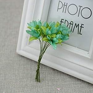 Vivavivo1234 Wreath Material Artificial Flowers Artificial Cherry Simulation Silk Flower Bride Wrist Wedding Decoration 1 79