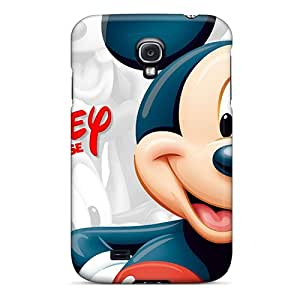 Premium Tpu Disney Mickey Mouse Cover Skin For Galaxy S4