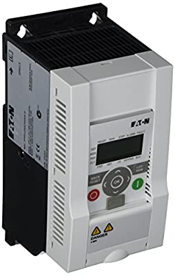 Eaton MMX12AA7D0F0-0 Adjustable Frequency AC Drives, 200-240VAC Supply Voltage, 2 HP Power Rating, 7A Input Current