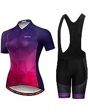 Summer Women MTB Bike Cycling Clothing Mountain Cycling Jersey Bicycle Shorts Sets