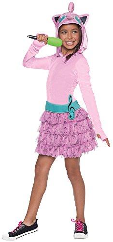 BESTPR1CE Girls Halloween Costume- Jiggly Puff Hoodie Dress Kids Costume Medium 8-10]()