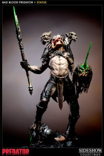 Sideshow Collectibles - Predator Statue 1/5 Bad Blood Predator 47 cm