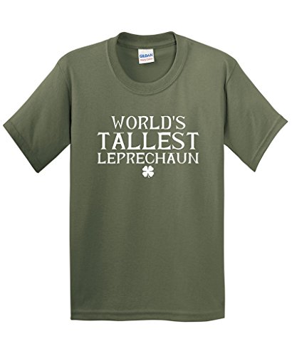 Feelin Good Tees World's Tallest Leprechaun Funny Irish