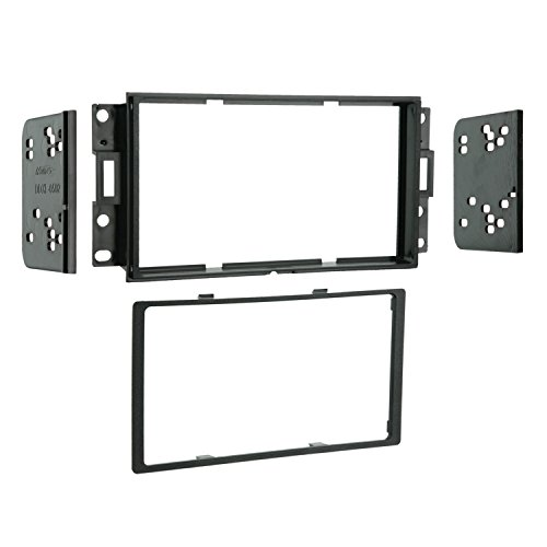 Metra 95-3527 Double DIN Installation Dash Kit for 2004-up Pontiac Grand Prix Vehicles (Black) 2 Din Install Kit