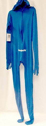 Blue Skin Child Costume (Morphsuits Blue Morph Suit Skin Child Costume 10-12 NIP)