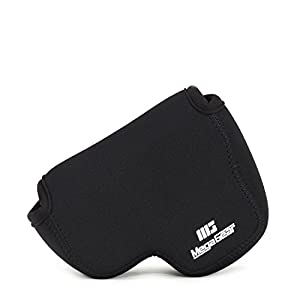 Megagear ''Ultra Light'' Neoprene Case Bag with Carabiner for Nikon COOLPIX B500 Digital Camera from Megagear