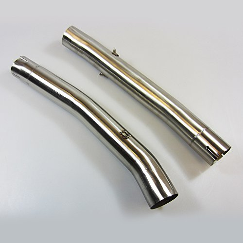 Stainless//Carbon Toro Exhausts T1-GP-0204-KAW-05 T1 GP Brushed Motorcycle Exhaust Kit Kawasaki ZX-6R 2009-2014