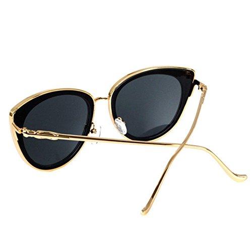 ... Aoligei Dames de lunettes de soleil et lunettes de soleil visage mince  lunettes fashion Street B afd3b3f40ff4