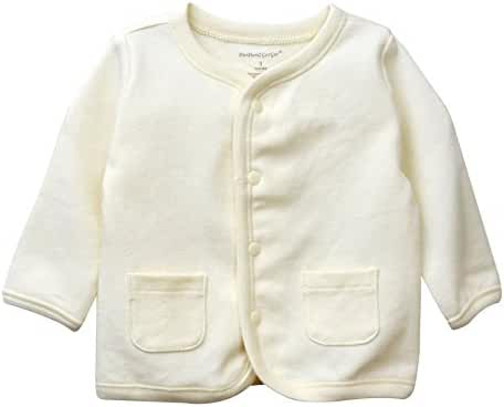 DorDor & GorGor ORGANIC Baby Cardigan Top, Dye Free, 100% Cotton