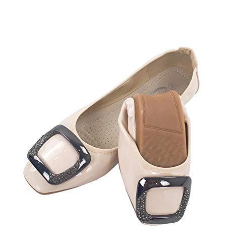 Zapatos Bolso Zapatos Zapatos de Plegables EU Ballet Trabajo de Mujer en Zapatos de FLYRCX Puestos cómodos de 35 EU Maternidad 37 Suaves su y dXYw76q