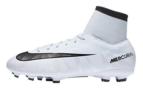 Nike Mercurial Victory Vi Dynamic Fit Cr Little Firm Ground Soccer Cleat (4.5) White