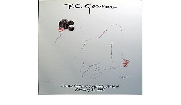R C Gorman Jonie VINTAGE FINE ART GALLERY POSTER MINT CONDITION FREE SHIP L@@k