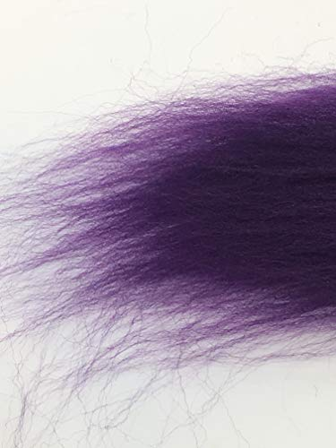 Purple Grape Wool Top Roving Fiber Spinning, Felting Crafts USA (1lb) by Shep's Wool (Image #2)