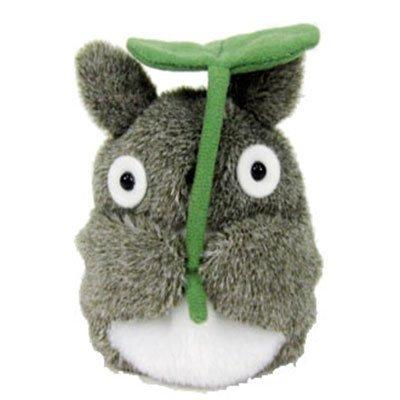My Neighbor Totoro Grey Totoro fluffy beanbags (leaf retention)