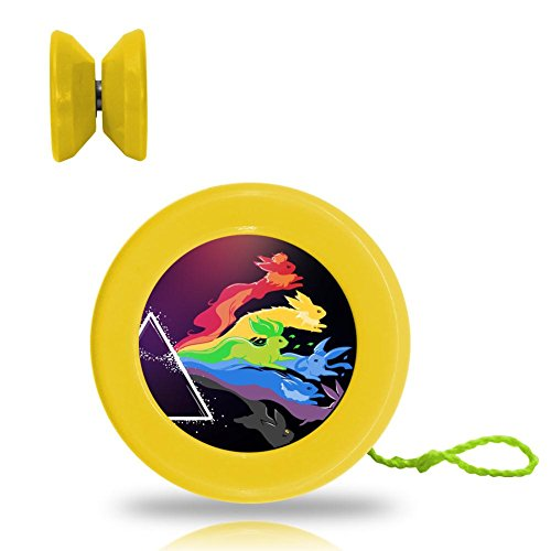 Pokemon Pink Floyd Logo Professional Responsive Yoyo With Narrow C Bearing And Extra String (Professional Cartoon Character Costumes)