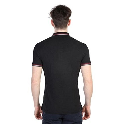 Napapijri - Herren Polo-Shirt mit Logo - Schwarz - GRÖSSEN M