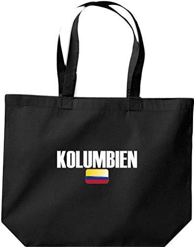 große Bolsa de compra, Colombia Land PAÍSES Fútbol negro