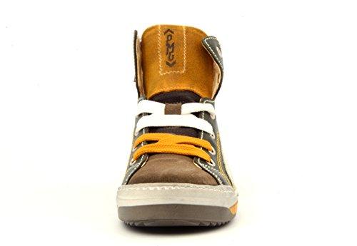 Primigi BEEK Jungen Halbschuhe Hohe Sneakers (BOSCO/FANGO)