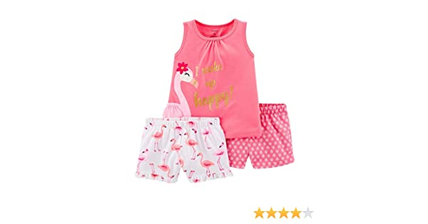 4ac973ee5 Amazon.com  Carter s Girls  3 Pc Poly 393g031  Clothing