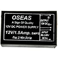 Oseas Led Driver SMPS Power Suppliers for LED Strips, (12V 1.5 Amp)