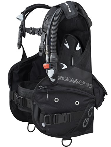 ScubaPro GO BCD Great For Travel BC (Large, New 2016 w/Standard Power Inflator) (Scubapro Knighthawk Bc)