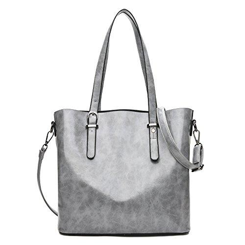 Gray Oil Big Gray Single Capacity Bags Meaeo Wax New Bag 1wga0