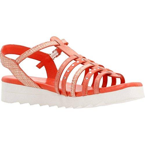 Sandalias y chanclas para mujer, color Rojo , marca HISPANITAS, modelo Sandalias Y Chanclas Para Mujer HISPANITAS EX201 Rojo Rojo