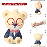 BBTshop Squishies Cute Bear Slow Rising Fruits Scented Stress Relief Toys Squeeze