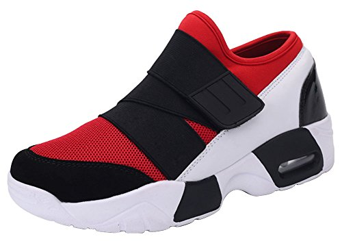 Gym Rouge Course Homme 44 Chaussures 36 Femme Fitness Jogging Sport Scratch Basket Taille Réspirant Unisex Air Wealsex wfqFazf