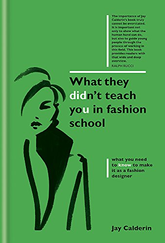 FREE What They Didn't Teach You in Fashion School P.P.T