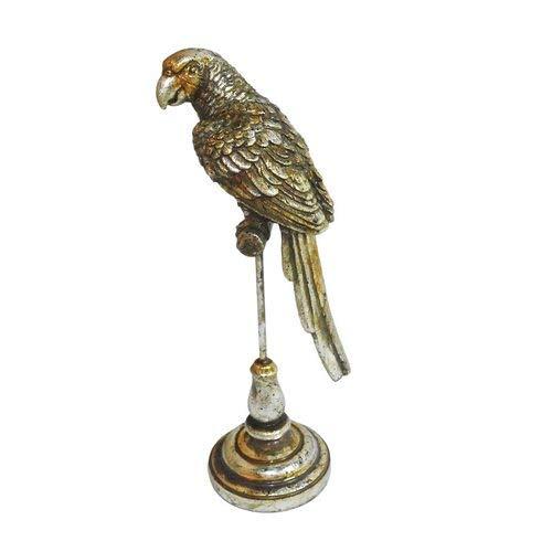 Escultura Parrots Silver M