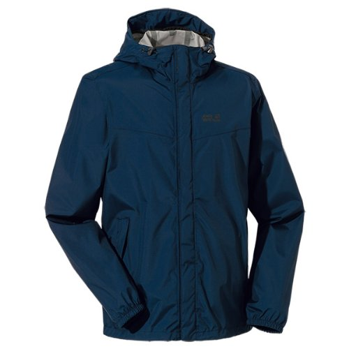 Jack Blue Men's Wolfskin Jacket Cloudburst Weatherproof Night xUO8qp