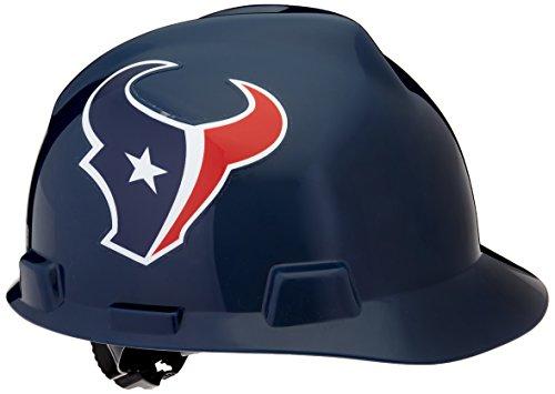MSA 10031348 NFL V-Gard Protective Cap, Houston Texans