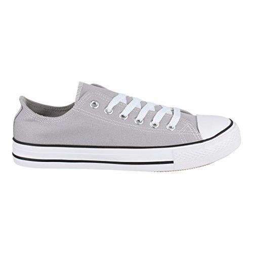 Schuhe Damen Textil Elara Sneaker Lt grey Aus Fällt Turnschuh Sportschuhe und Top Nummer 36 Herren Größer Eine Unisex Low Basic für Bequeme 46 XqXxr4w
