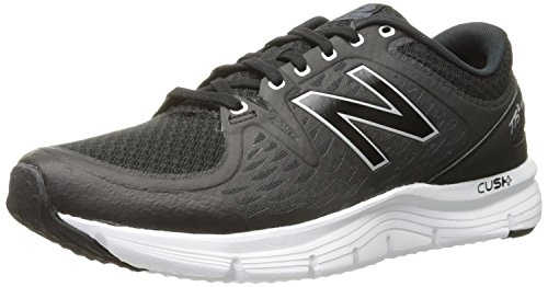 New Balance Mens M775V2 Running Shoe, Negro/Plateado, 44 D(M) EU/9.5 D(M) UK