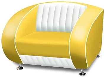 Belair Amerikanischer Sessel Retro Style Mobel Usa 50er Sofa