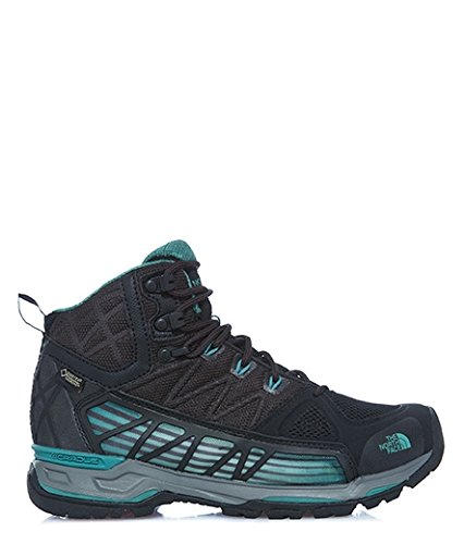 The North Face Ultra GTX Surround Mid Women | TNF Black/Deep Sea (NF0A2T64) (9.5-Women)