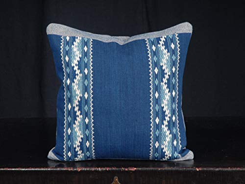 ethnic textiles decorative throw pillow