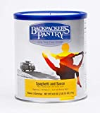 Backpacker's Pantry Spaghetti and Sauce, #10 Can - 34.5 Ounces (16 Serving), Emergency Food, Freeze Dried Meal