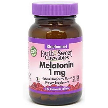 BLUEBONNET Nutrition EARTHSWEET CHEWABLES MELATONIN 1 mg