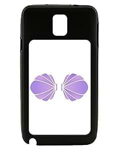 Easy Mermaid Costume Purple Shells - Halloween Galaxy Note 3 Case