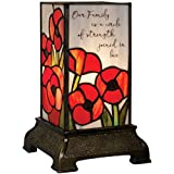 Carson Family Stained Glass Memorial Lamp