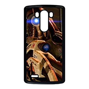 Popular And Durable Designed TPU Case with Mass Effect LG G3 Cell Phone Case Black