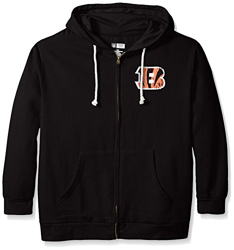 Cincinnati Bengals Full Zip Fleece - 1