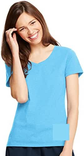 Hanes Women's X-Temp V-Neck Tee