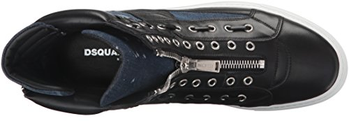 Dsquared2 Mens W16sn439-897-m935 Mode Sneaker Nero Blå
