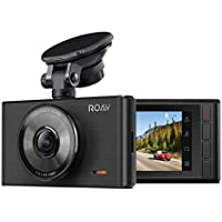 "Roav by Anker Dash Cam C2, FHD 1080P, 3"" LCD, 4-Lane Wide-Angle View Lens, G-Sensor, WDR, Loop Recording, Night Mode, 2-Port Charger, No Wi-Fi or App"