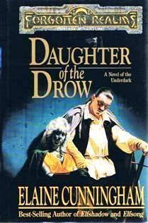 book cover of Daughter of the Drow